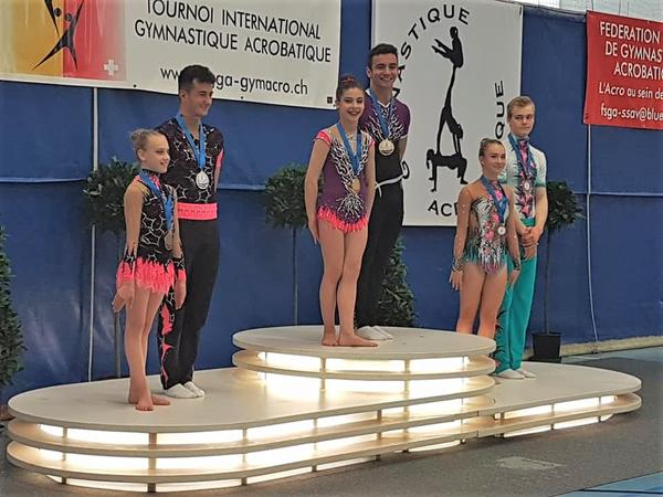 Acro Cup 2018 Margot Logan