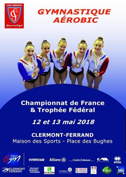 AFFICHE-FRANCE-AEROBIC 2018
